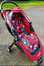 Load image into Gallery viewer, Custom made pram liner- City mini, GT-single - Percy and Paige tiny traveller footmuff pram blanket best footmuffs universal footmuff australian made footmuffs warm and practical