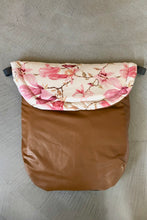 Load image into Gallery viewer, Custom liner and footmuff set- magnolia/brown - Percy and Paige tiny traveller footmuff pram blanket best footmuffs universal footmuff australian made footmuffs warm and practical