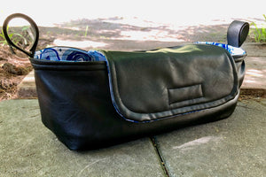 Custom pram caddy- made to order in your choice of fabric - Percy and Paige tiny traveller footmuff pram blanket best footmuffs universal footmuff australian made footmuffs warm and practical