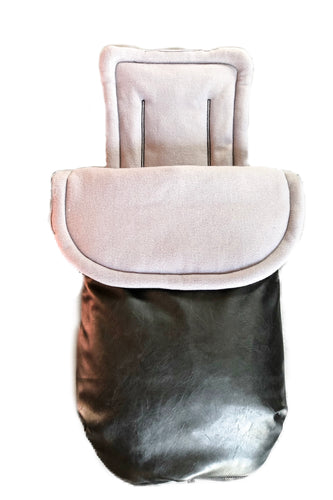 City elite/Agile/Agile elite custom anti slip liner and footmuff - Percy and Paige tiny traveller footmuff pram blanket best footmuffs universal footmuff australian made footmuffs warm and practical