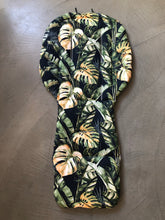Load image into Gallery viewer, Custom liner made for your model of pram- Tropics leaf - Percy and Paige tiny traveller footmuff pram blanket best footmuffs universal footmuff australian made footmuffs warm and practical