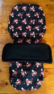 Custom set- bugaboo buffalo - Percy and Paige tiny traveller footmuff pram blanket best footmuffs universal footmuff australian made footmuffs warm and practical
