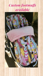 Custom set- Strider Plus, Compact, Deluxe - Percy and Paige tiny traveller footmuff pram blanket best footmuffs universal footmuff australian made footmuffs warm and practical