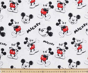 Mickey Mouse sketch - Percy and Paige tiny traveller footmuff pram blanket best footmuffs universal footmuff australian made footmuffs warm and practical