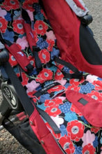 Load image into Gallery viewer, City mini/GT single Anti slip Pram Liner- dream catcher - Percy and Paige tiny traveller footmuff pram blanket best footmuffs universal footmuff australian made footmuffs warm and practical