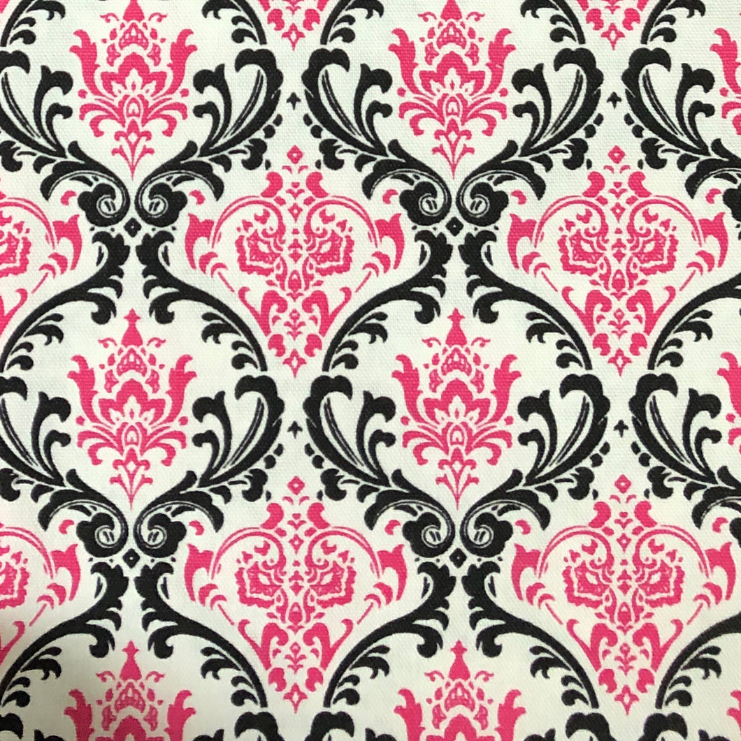Copy of Pink black damask - Percy and Paige tiny traveller footmuff pram blanket best footmuffs universal footmuff australian made footmuffs warm and practical