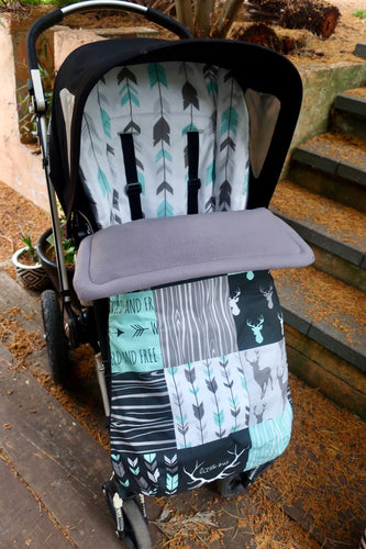 Custom set- City Select, City select lux - Percy and Paige tiny traveller footmuff pram blanket best footmuffs universal footmuff australian made footmuffs warm and practical