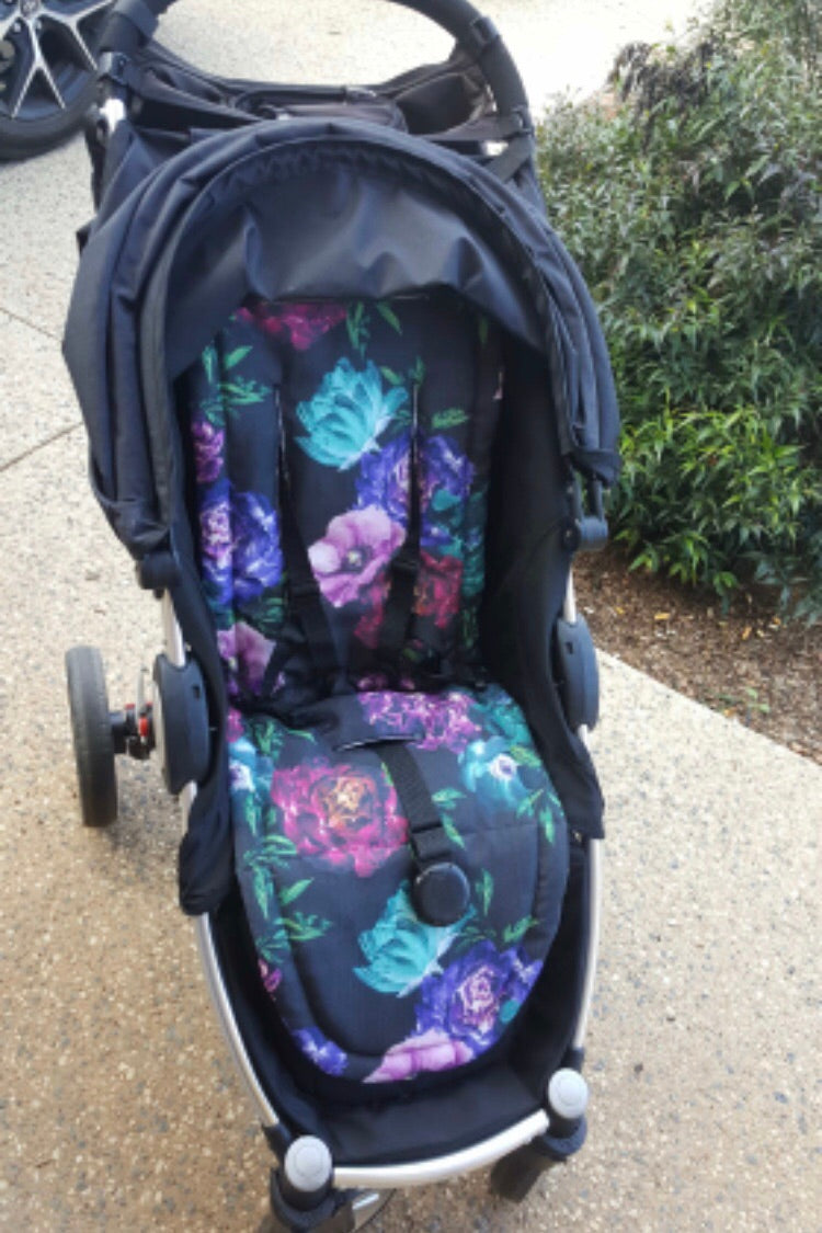 Steelcraft agile/agile elite Custom made pram liner - Percy and Paige tiny traveller footmuff pram blanket best footmuffs universal footmuff australian made footmuffs warm and practical