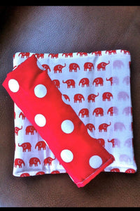 Padded strap covers - Percy and Paige