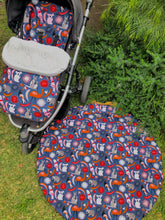 Load image into Gallery viewer, Tiny Traveller Playmat- Australiana - Percy and Paige tiny traveller footmuff pram blanket best footmuffs universal footmuff australian made footmuffs warm and practical