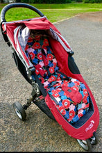 Load image into Gallery viewer, City mini/GT single Anti slip Pram Liner- owls - Percy and Paige tiny traveller footmuff pram blanket best footmuffs universal footmuff australian made footmuffs warm and practical