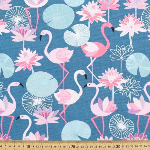 Flamingos pink - Percy and Paige tiny traveller footmuff pram blanket best footmuffs universal footmuff australian made footmuffs warm and practical