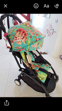 Load image into Gallery viewer, Custom hood and liner- Babyzen yo-yo, yo-yo + - Percy and Paige tiny traveller footmuff pram blanket best footmuffs universal footmuff australian made footmuffs warm and practical