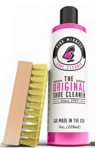 Pink Miracle Shoe Cleaner - 4 oz. with Brush