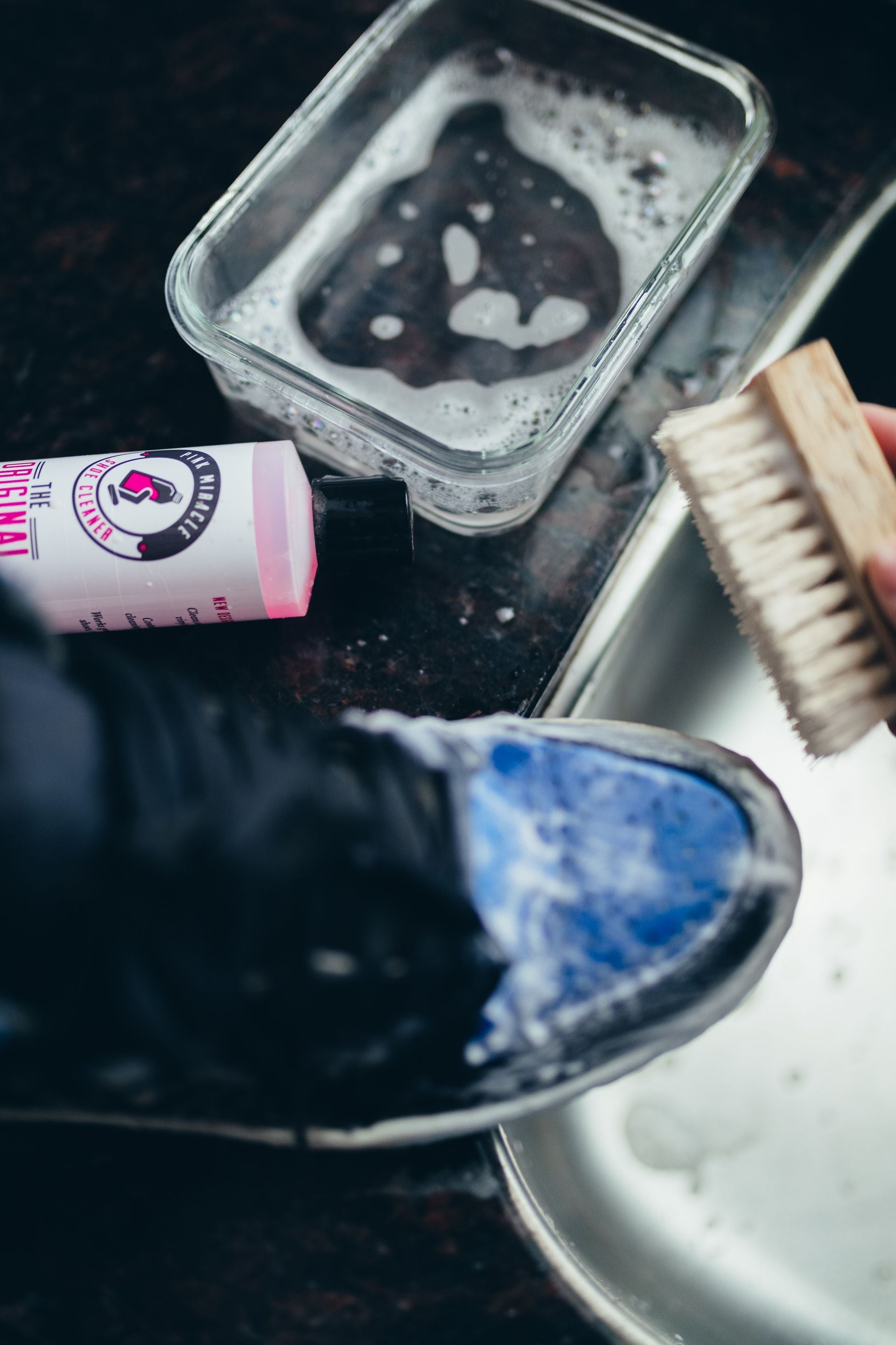 Pink Miracle Shoe Cleaner