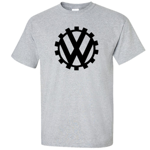 VW Germany Circa 1939 Logo T-Shirt - Classic Grey