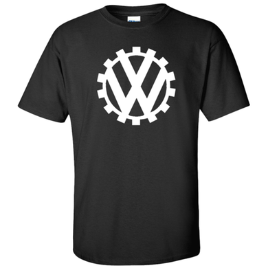 VW Germany Circa 1939 Logo T-Shirt - Black