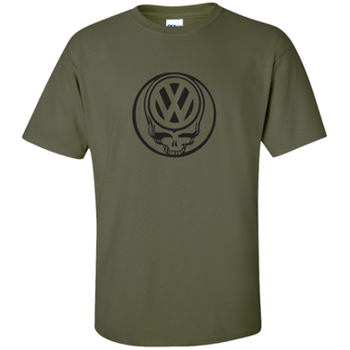 VW Deadhead T-Shirt - Military Green