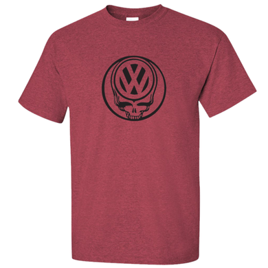 VW Deadhead T-Shirt - Red