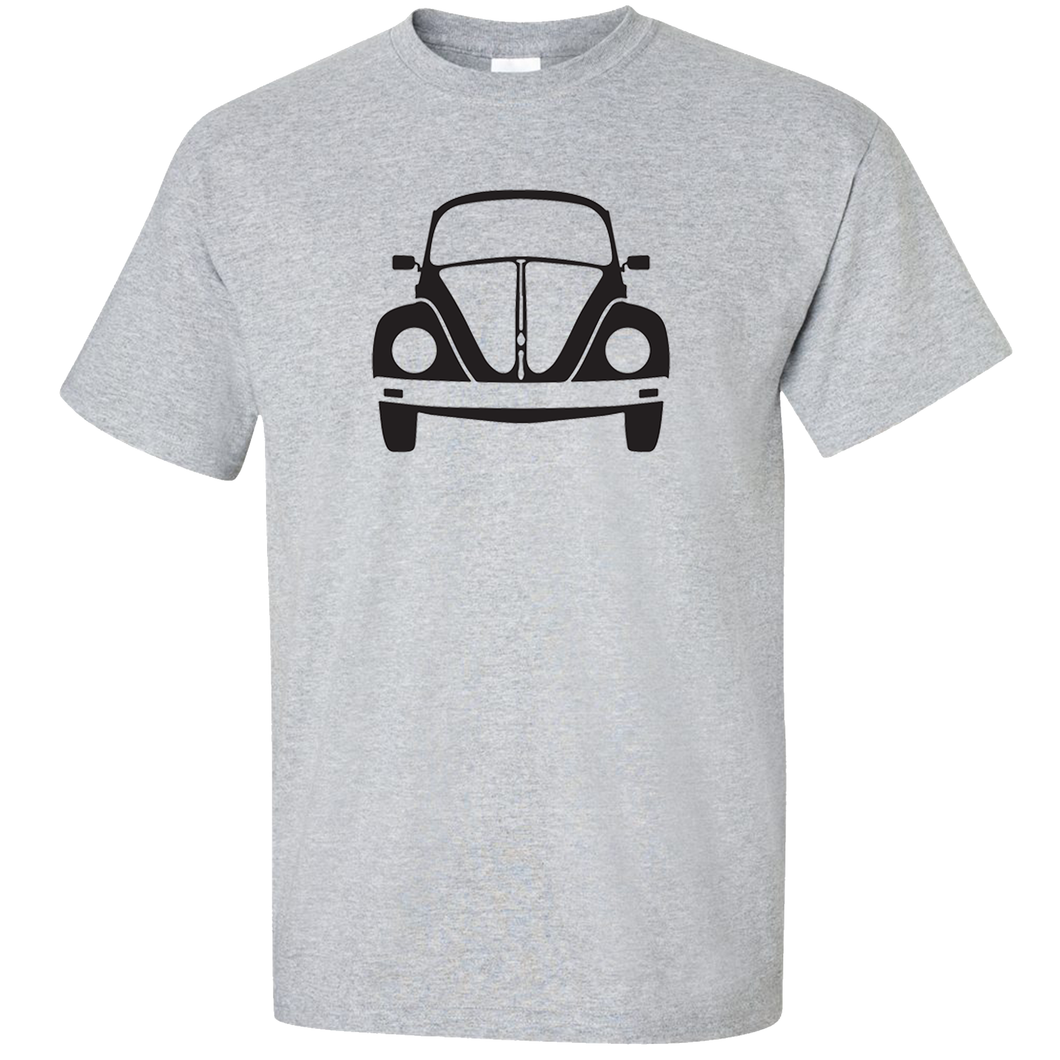 VW Bug Front T-Shirt - Classic Grey