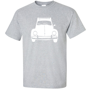 VW Bug Rack T-Shirt - Classic Grey