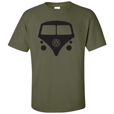 VW Bus T-Shirt - Military Green