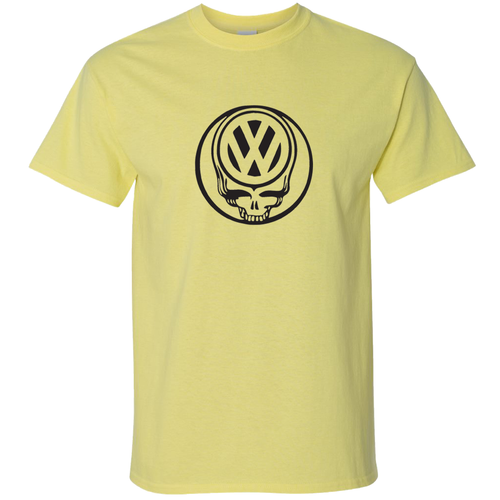 VW Deadhead T-Shirt - Yellow