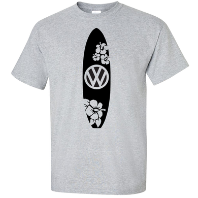 VW Surfboard T-Shirt - Classic Grey