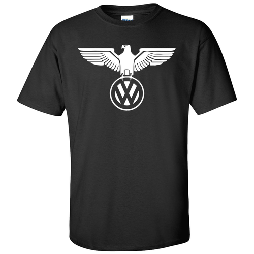 VW German Eagle T-Shirt - Black