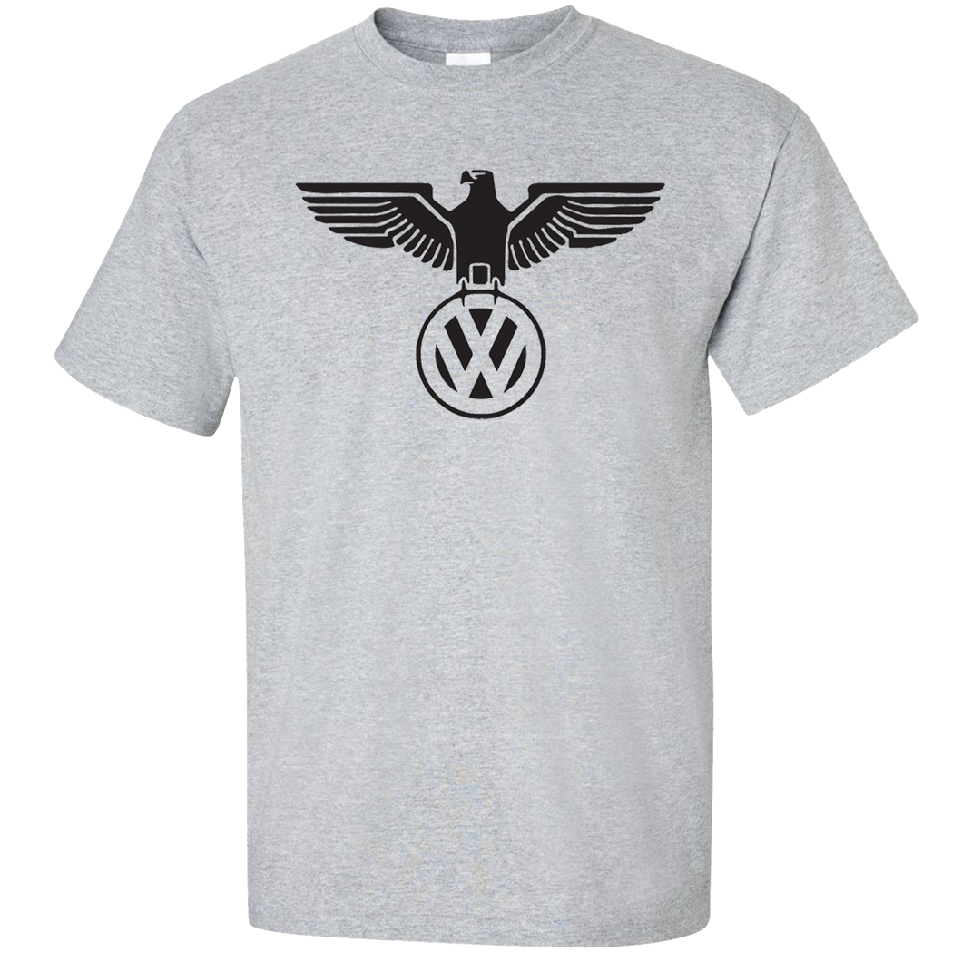 VW German Eagle T-Shirt - Classic Grey