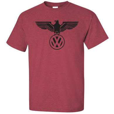 VW German Eagle T-Shirt - Red