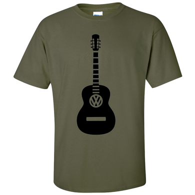 VW Guitar T-Shirt - Red