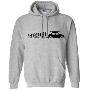 VW Evolution Hoodie - Classic Grey
