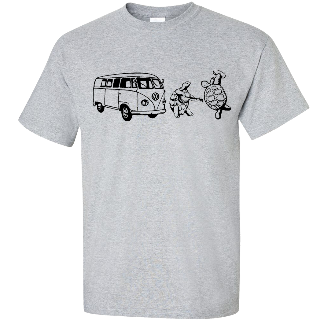VW Terrapin Turtles T-Shirt - Classic Grey