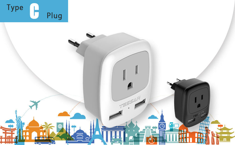 Type C Plug Adapter