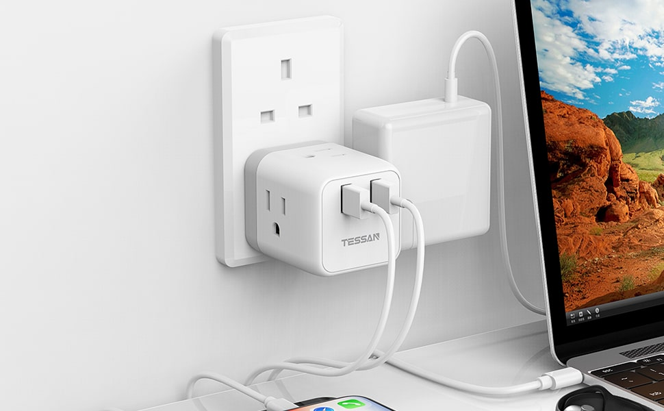 The Best Travel Plug Adapter from Tessan [2019 Updated]