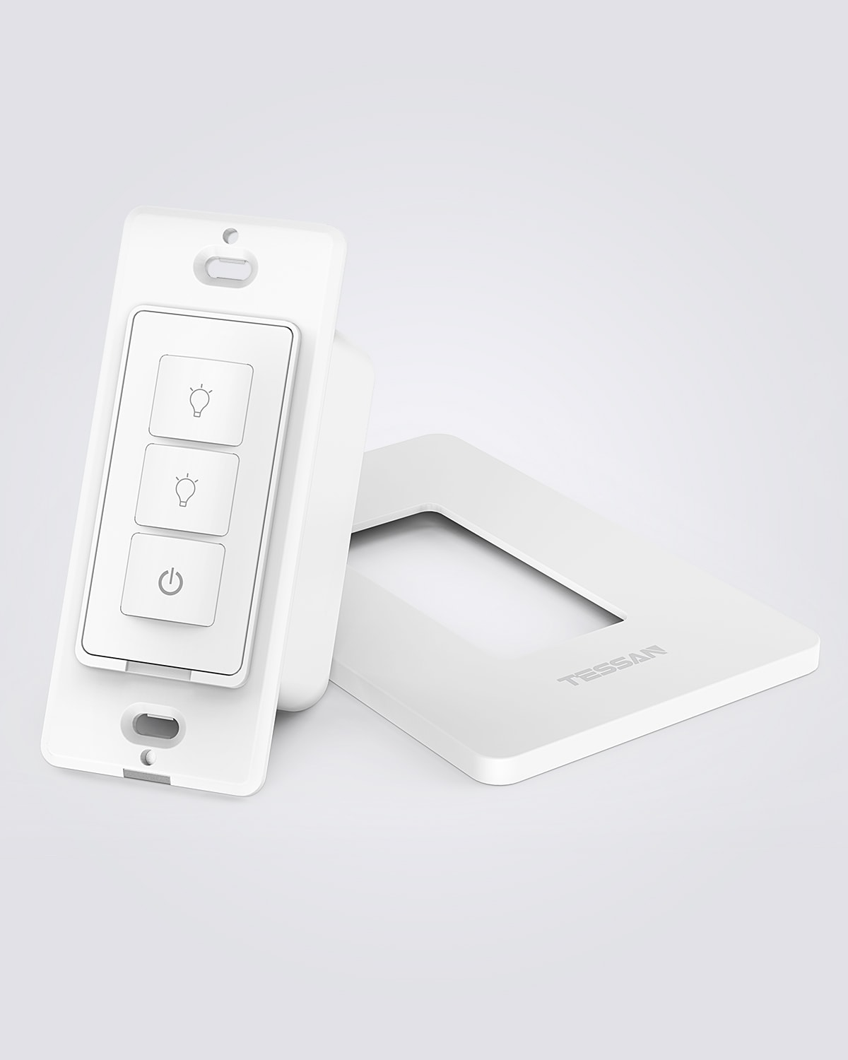 Extra Add-on Switch for Tessan 3 Way Smart Dimmer Switch Kit, Cannot works Independently