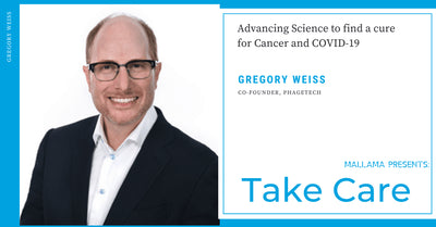 EP 12 - Dr. Greg Weiss - Advancing Science to find a cure for Cancer and COVID-19 (Award-Winning Scientist & Entrepreneur)