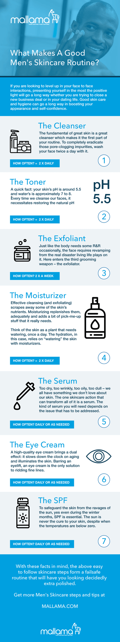 Infographic - What Makes a Ultimate Skincare Routine? Following 7 Simple Grooming Steps