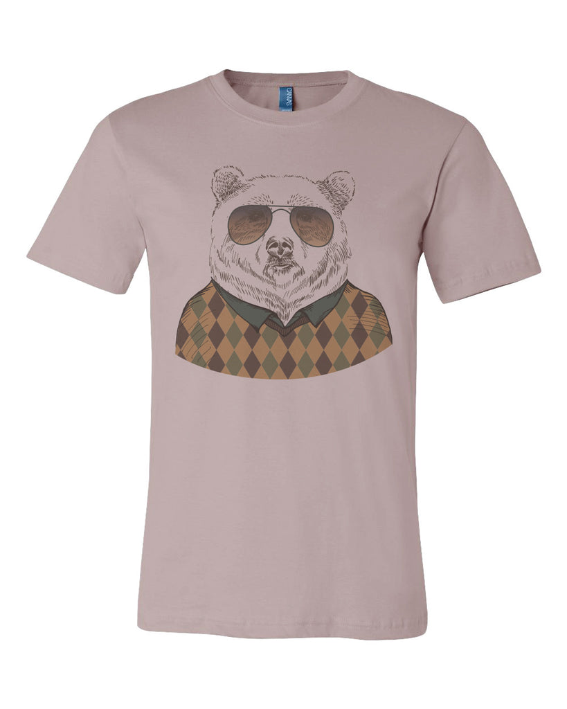 5e27adf42 Cardigan Bear Silly T-shirt- Babbletees – GraphicEsoteric