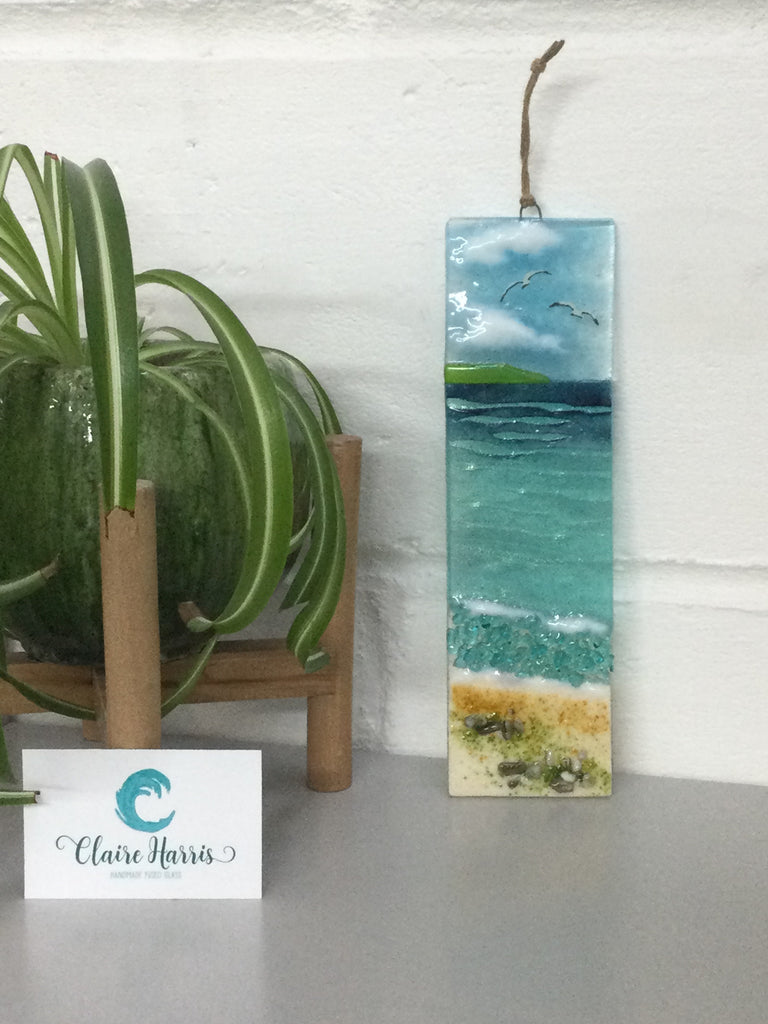Large Hanger - Cornish Sea scene