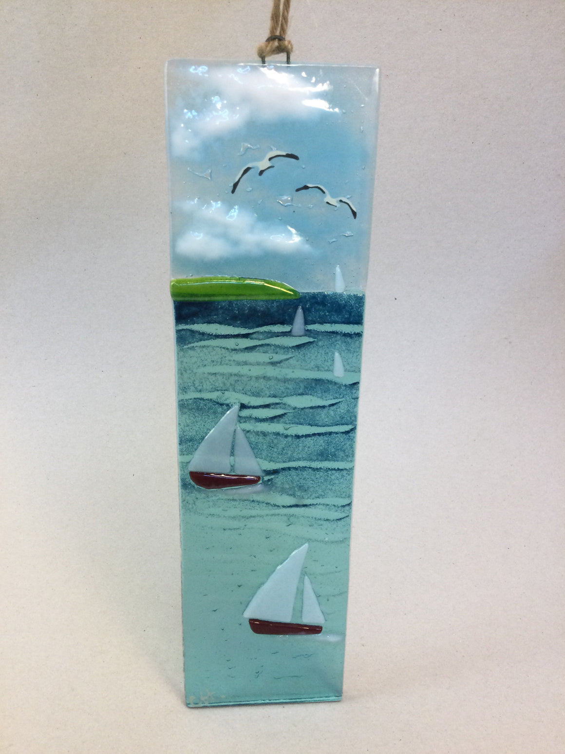 Large Hanger - Sea scene with sailing boats