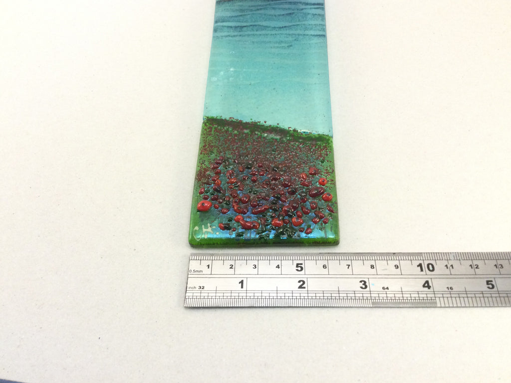 Large Hanger - Sea scene with poppies