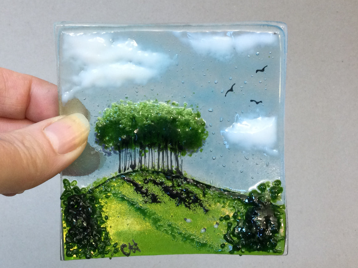 Trinket Dish - Nearly Home trees