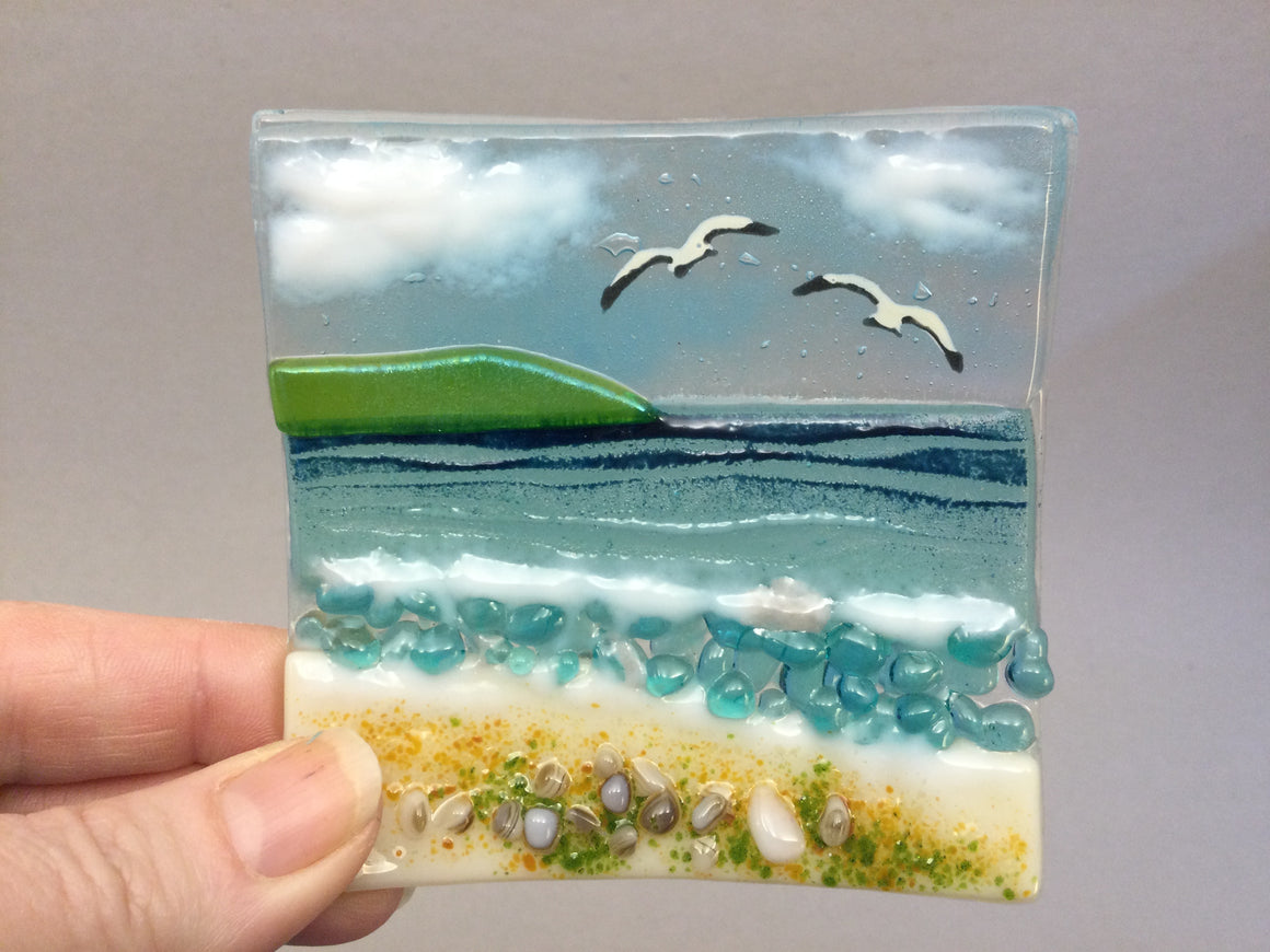 Trinket Dish - Cornish Sea Scene