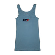 Gen-X Muscle Women's Soft Feel Embroidered Tank