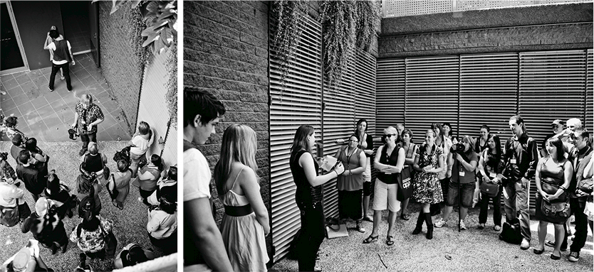 Spencer + Matt & Katie // Workshop - 26th and 27th July 2012