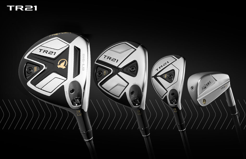 Honma Unveils TR21X Irons, TR21 Fairways and Hybrids  to Complete the TR Family of Products