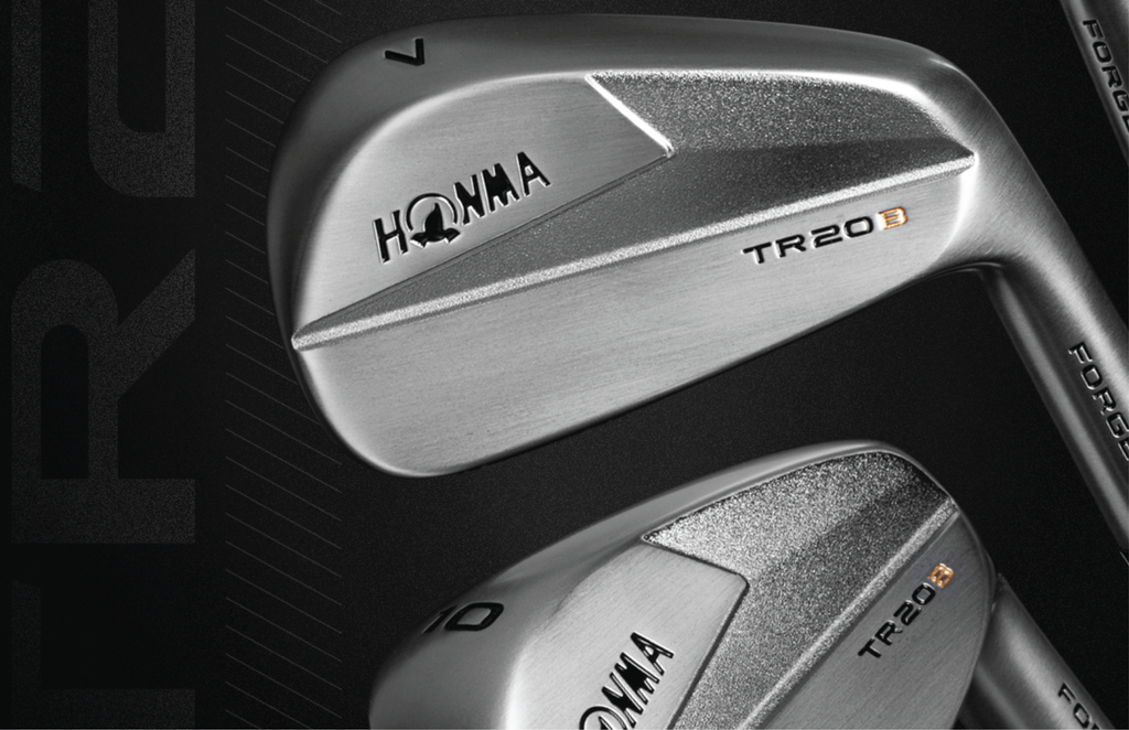 Honma's TR20B Irons Appeal to Skilled Players Seeking Next-Level Precision, Feel and Feedback