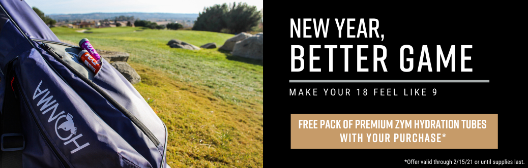Free Zym Hydration Pack with your purchase